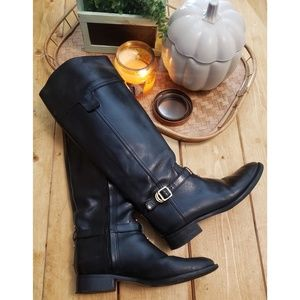 TORY BURCH tall ring boots